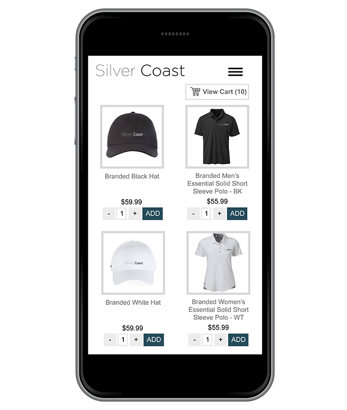 Integrated eCommerce Store on Smartphone